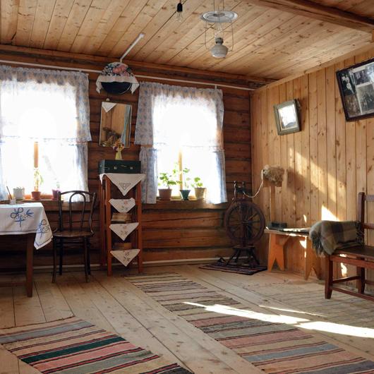 Дом Ю. Гагарина в селе Клушино